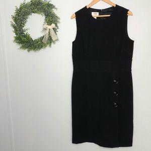 Talbots Stretch Black Dress